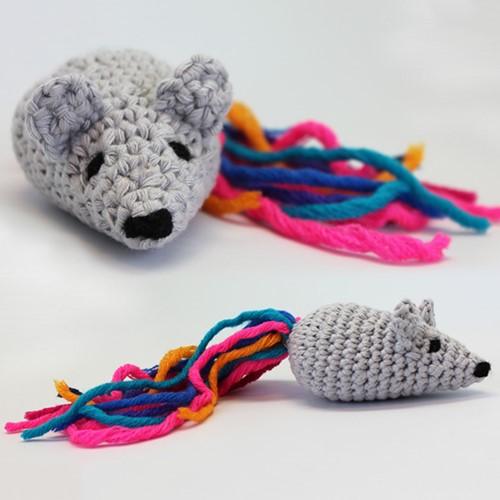 Crochet pattern Little mouse