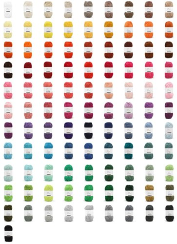 Yarn and Colors Must-have Colour Pack 100 Colours