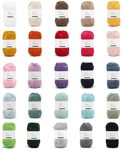 Yarn and Colors Must-have Colour Pack 25 Colours