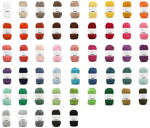 Yarn and Colors Must-have Colour Pack 50 Colours