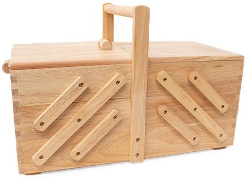 Sewing Box Wood L Light