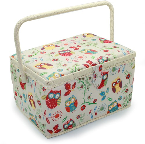 Sewing Box Owl Large