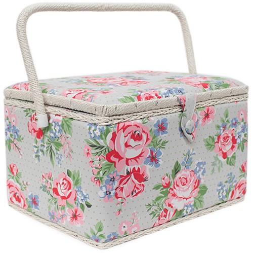 Sewing Box Rose Large