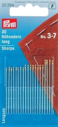 Prym Sharps No.5-9