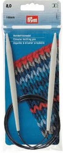 Prym Circular Knitting Needles 80cm 9mm