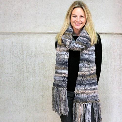 Knitting pattern Olympia scarf