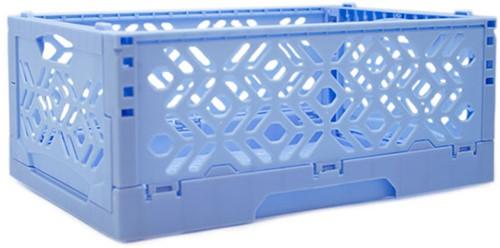 Yarnplaza Foldable Storage Crate Light Blue