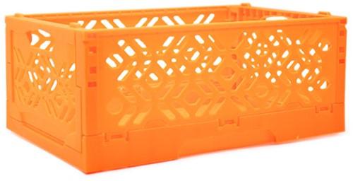 Yarnplaza Foldable Storage Crate Orange