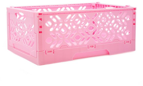 Yarnplaza Foldable Storage Crate Pink