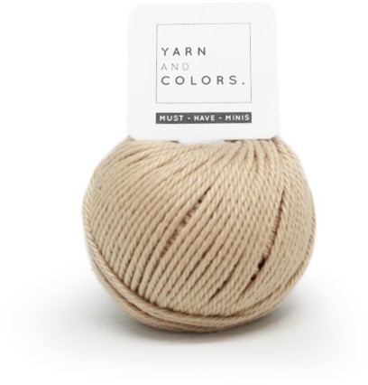 Yarn and Colors Less is more WOW! Wall Hanging Kit 009 Limestone