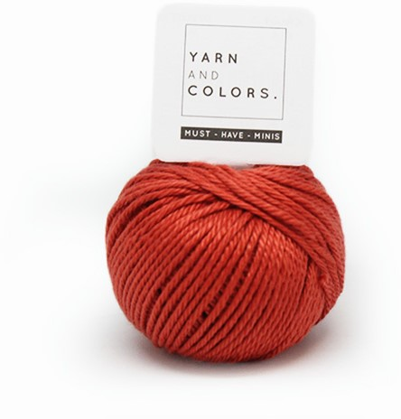 Yarn and Colors Less is more WOW! Wall Hanging Kit 023 Brick