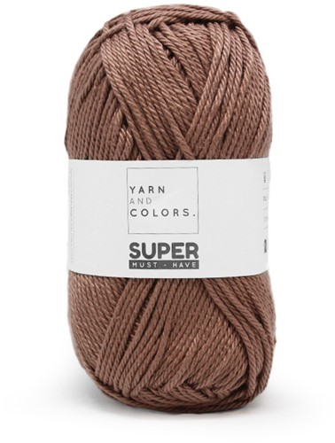 Yarn and Colors Twist WOW! Wall Hanging Kit 008 Teak