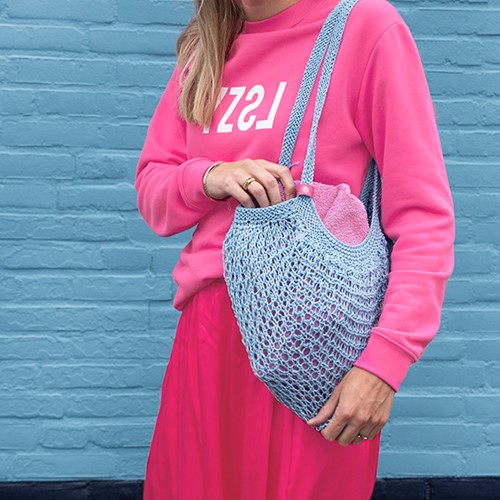 Joly Bag Knitting Kit 4 Larimar