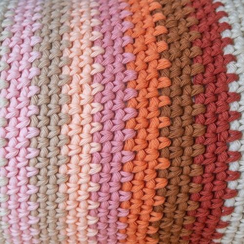 Yarn and Colors Rainbow Roll Crochet Kit 3 Satay