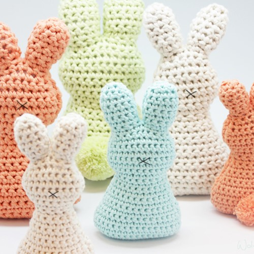 Crochet Pattern Easter Bunnies