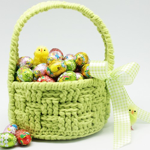 Crochet pattern Easter basket