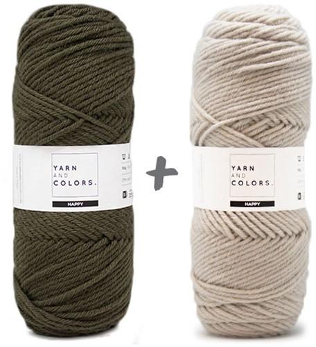 Dream Blanket 4.0 KAL Knitting Kit 13 Khaki & Birch