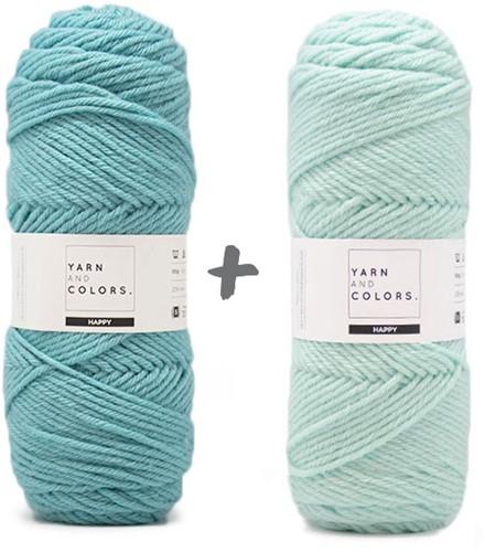 Dream Blanket 4.0 KAL Knitting Kit 14 Glass & Jade Gravel