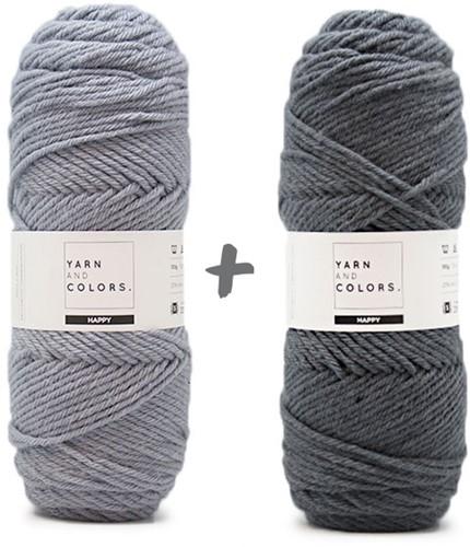 Dream Blanket 4.0 CAL Crochet Kit 15 Shark Grey & Graphite