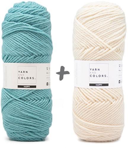 Dream Blanket 4.0 CAL Crochet Kit 3 Glass & Cream