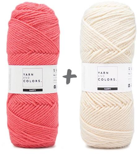 Dream Blanket 4.0 CAL Crochet Kit 7 Pink Sand & Cream