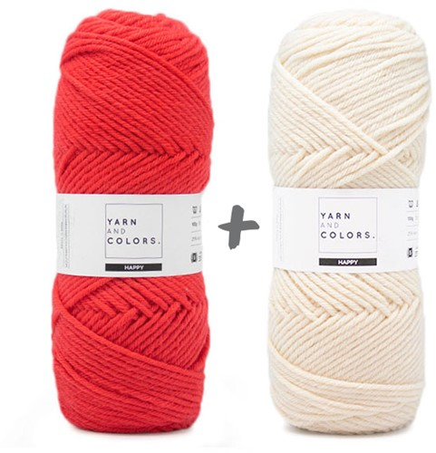 Dream Blanket 4.0 CAL Crochet Kit 8 Pepper & Cream