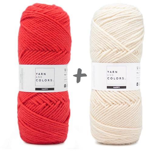 Dream Blanket 4.0 KAL Knitting Kit 8 Pepper & Cream