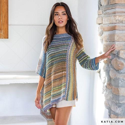 Knitting Pattern Paraiso Ladies Tunic