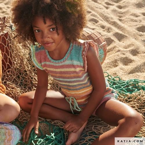 Knitting Pattern Paraiso Kids Jumpsuit