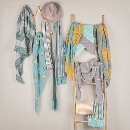 Yarn and Colors Scarf Special Pattern Bundle