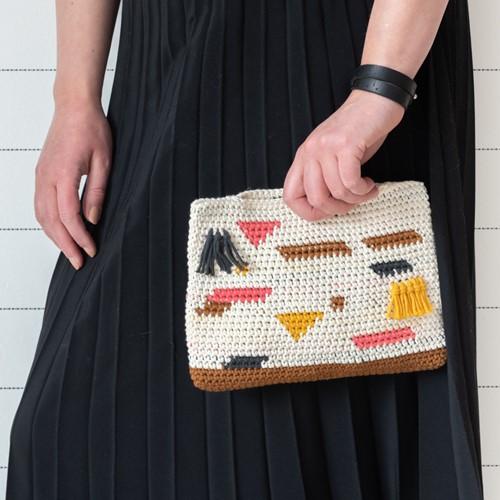 Yarn and Colors Perky Pouch Crochet Kit 026 Satay