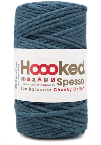 Hoooked Spesso Chunky Cotton 902 Petrol