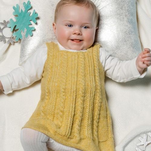 Knitting Pattern Phil Soft Dress