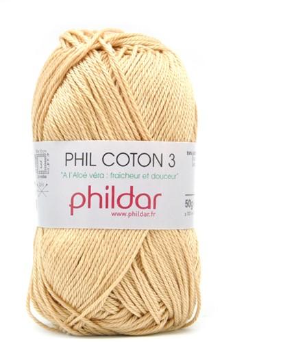Phildar Phil Coton 3 1192 Seigle