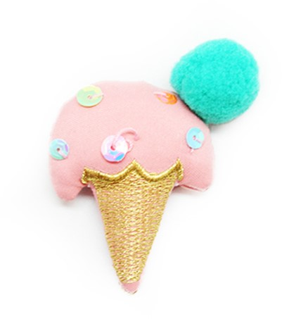 Phildar Ice Cream Cone Pink