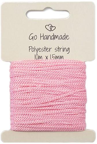 Polyester String 4 Pink