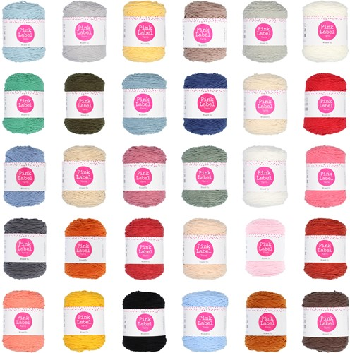 Pink Label Mixed Up All Colors Yarn Pack