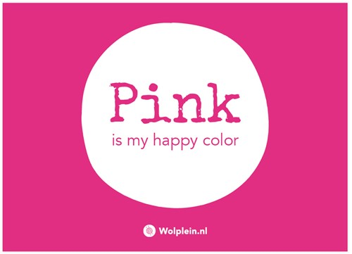 Pink Label Postcard