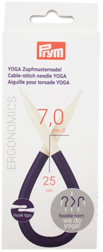 Prym Yoga Cable Needles 7mm