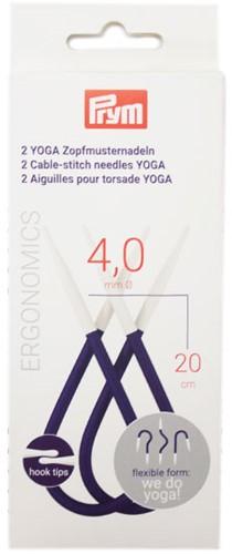 Prym Yoga Cable Needles 4mm