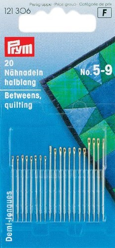 Quilting Betweens No. 5-9