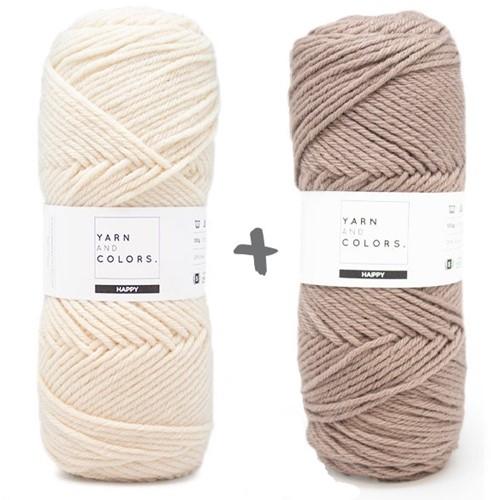 Reversible Dream Blanket 3.0 CAL Crochet Kit 13 Cigar (Accent Colour)