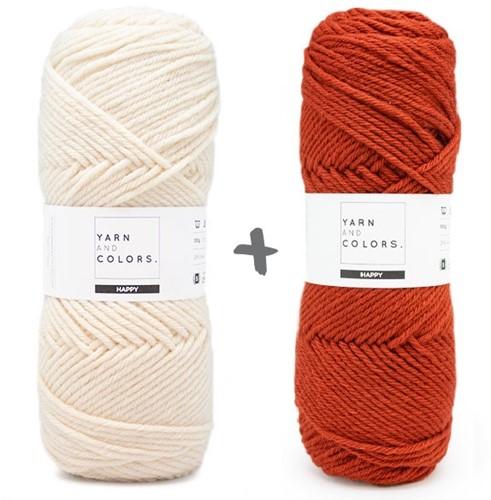 Reversible Dream Blanket 3.0 CAL Crochet Kit 14 Chestnut (Accent Colour)