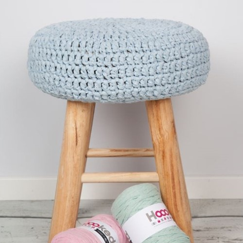 Crochet Pattern RibbonXL Stool