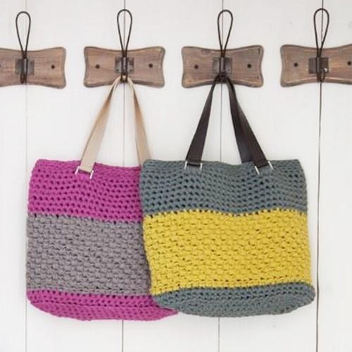 Crochet Pattern RibbonXL Valencia Bag