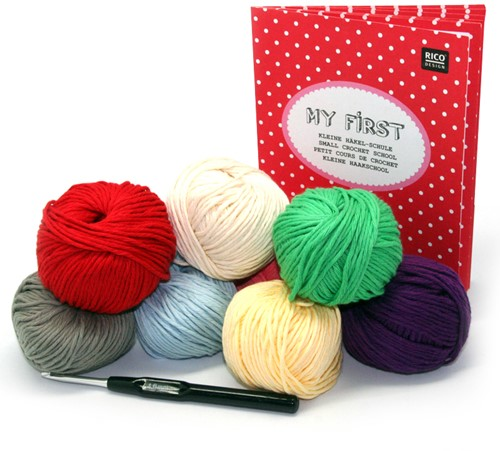 Rico My First Crochet kit