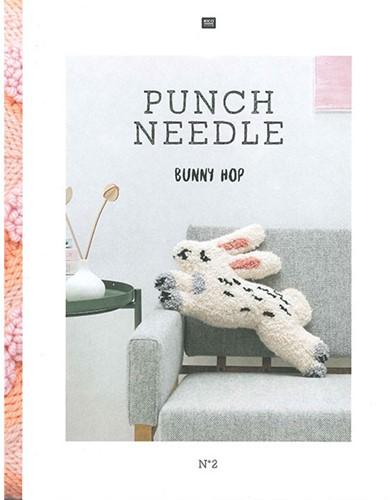 Rico Punch Needle No. 2 Bunny Hop