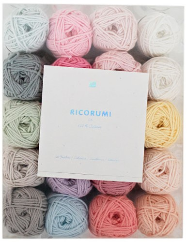 Ricorumi Set 20 Colours Baby Pastel
