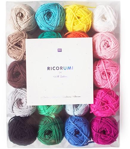 Rico Ricorumi Set 20 Colours