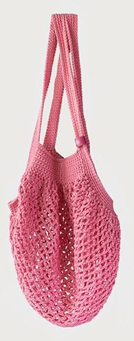 Joly Bag Crochet Kit 3 Peony Pink